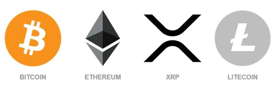 Regal Assets' cryptocurrencies selection, Bitcoin, Ethereum, Ethereum Classic, etc.