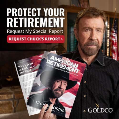 Invest in gold and silver at Goldco like Chuck Norris